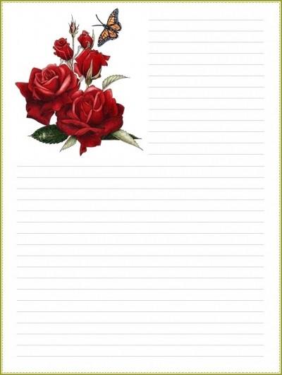 Papier A Lettre A Imprimer Page 4