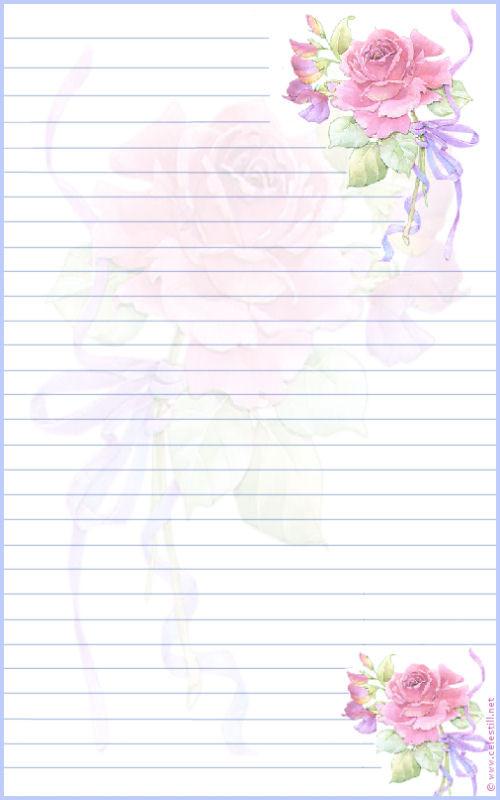 papier à lettre 0 imprimer